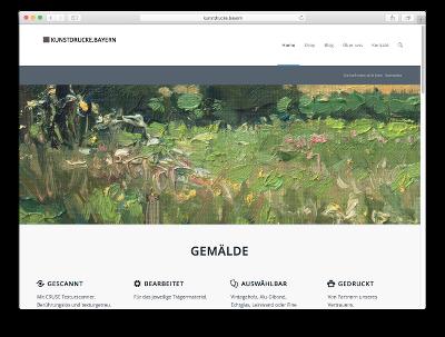 Kunstdrucke Bayern - Webdesign: J. Bob-Fuchs, Bruckmühl