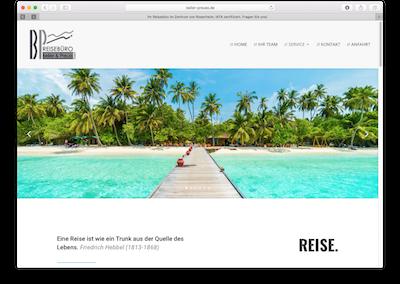 Beller & Preuss – Reisebüro
