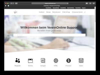 Support VereinOnline